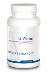 Biotics Research Li-Zyme - 100 tabs