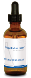 Biotics Research Iodine Forte - 2 oz