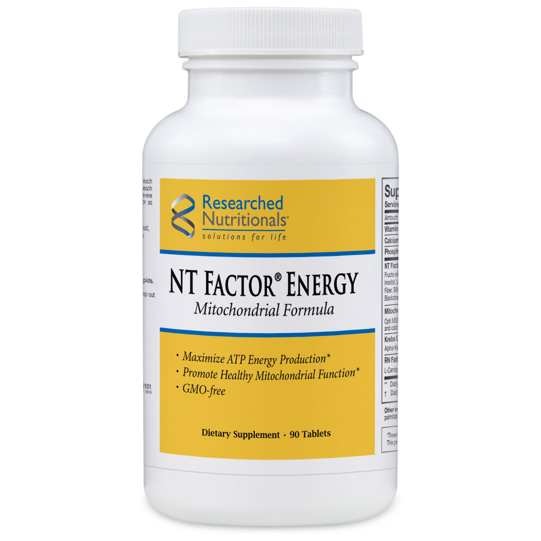 Researched Nutritionals NT Factor Energy - 90 caps