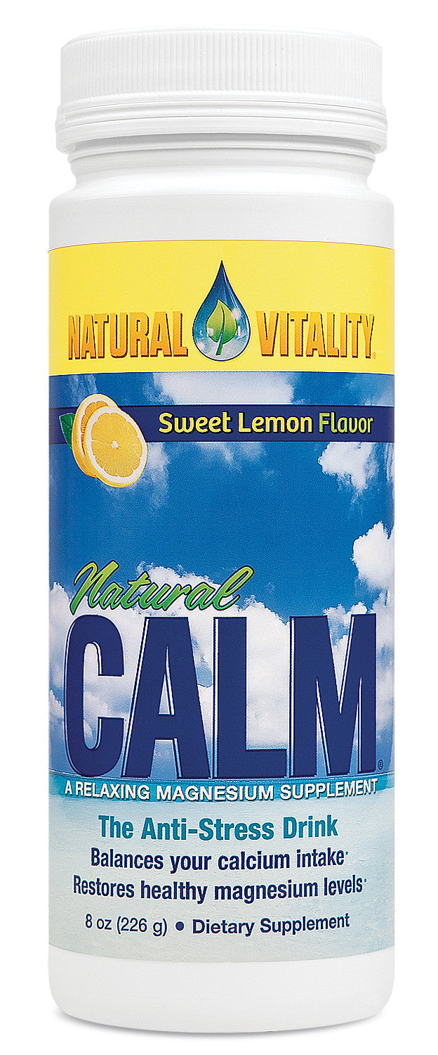 Natural Vitality Natural Calm - Lemon - 8oz