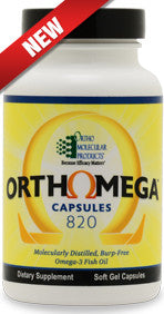 OrthoMega 820 Fish Oil Capsules - 180 ct