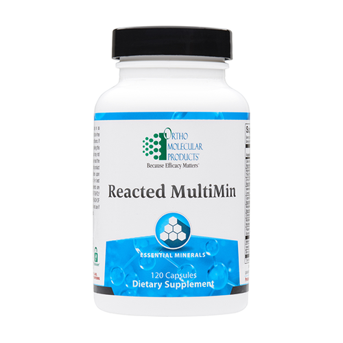 Ortho Molecular Reacted MultiMin - 120 ct