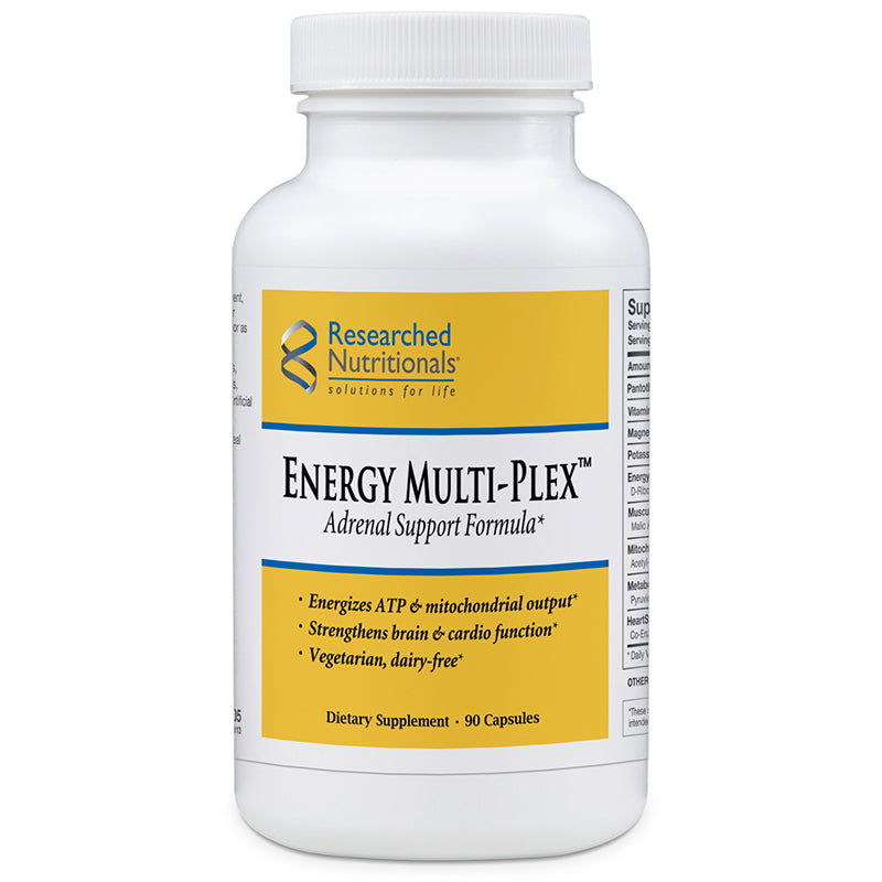 Researched Nutritionals Energy Multi-Plex - 90 caps