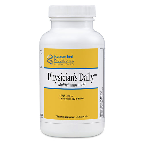 Researched Nutritionals Physician's Daily Multivitamin + D3 - 60 ct