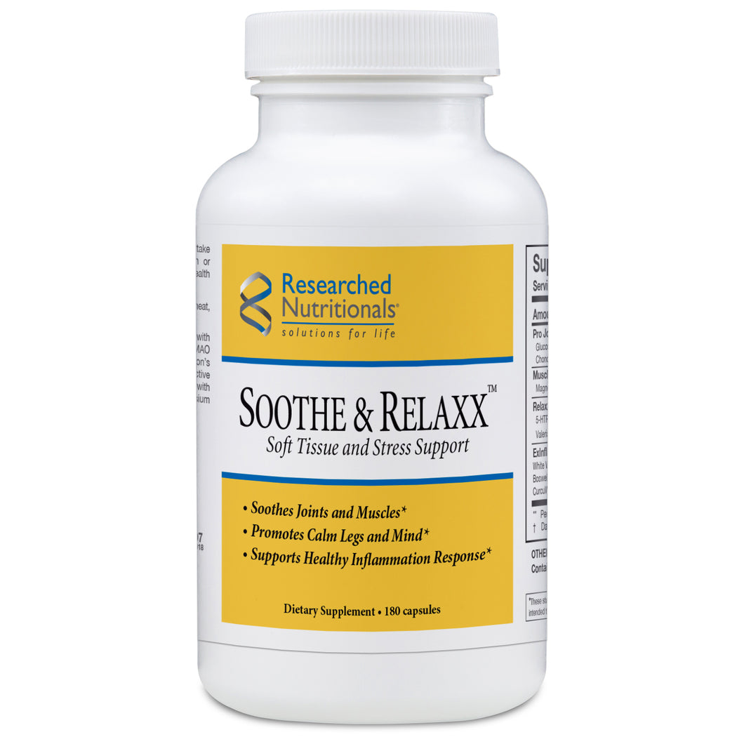 Researched Nutritionals Soothe & Relax - 180 caps