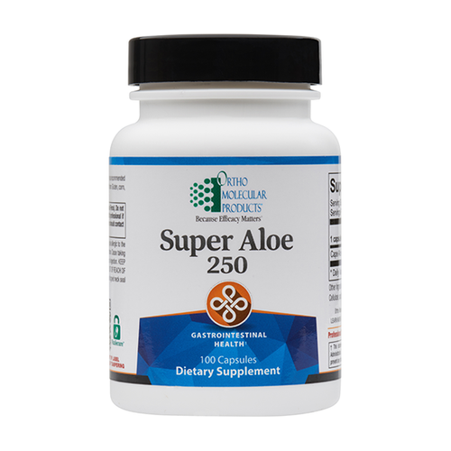 Ortho Molecular Super Aloe 250 - 100 ct