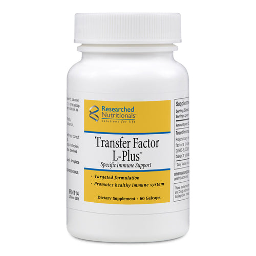 Researched Nutritionals Transfer Factor L-Plus - 60 gels