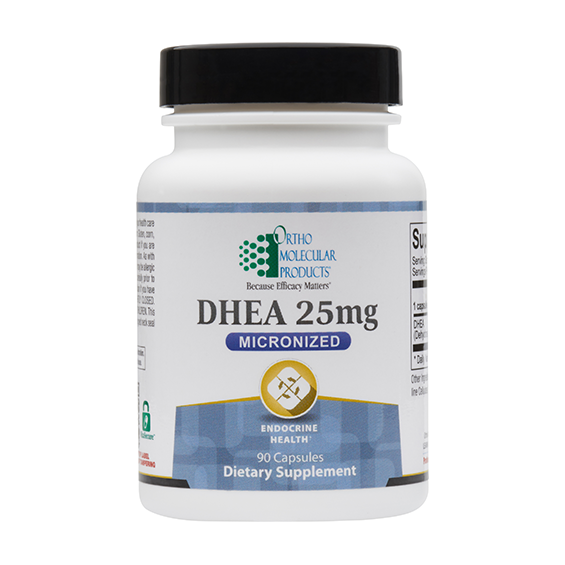 Ortho Molecular DHEA 25 mg - 90 ct