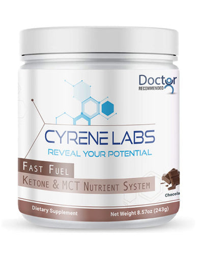 Cyrene Labs Fast Fuel Ketone & MCT Nutrient System Chocolate 8.57oz 15 servings