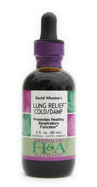 Lung Relief Cold/Damp 2 oz Herbalist and Alchemist