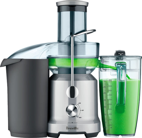 Breville - Juice Fountain Cold Electric Juicer - Silver
