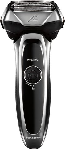 Panasonic - Arc5 Automatic Cleaning/Charging Wet/Dry Electric Shaver - Silver