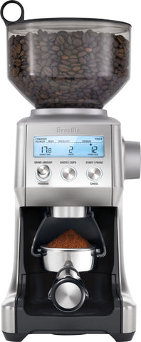 Image of Breville - the Smart Grinder Pro 12-Cup Coffee Grinder - Stainless Steel