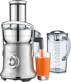 Breville - the Juice Fountain Cold XL Juicer - Brushed Stainless Steel