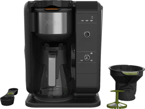 Ninja - Hot & Cold 10-Cup Coffee Maker - Black/Stainless Steel