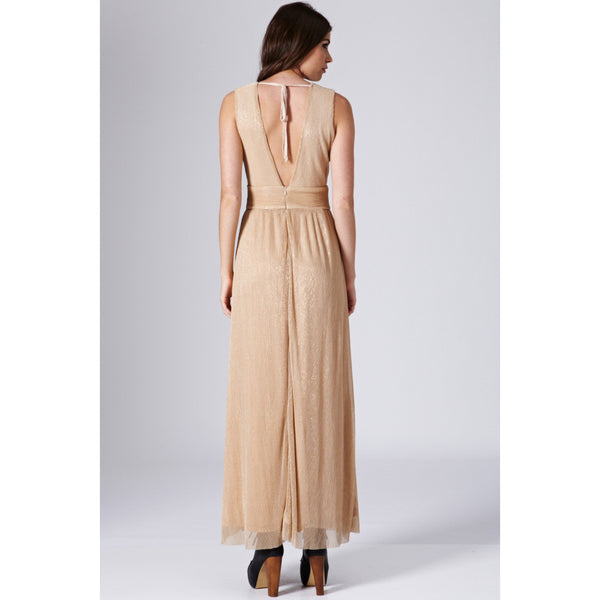 Lurex Pleated Maxi - 1001noches