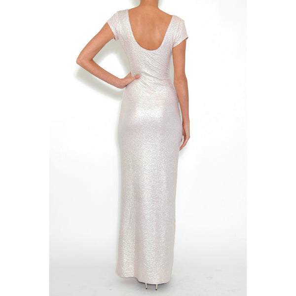 Metallic Maxi Dress - 1001noches