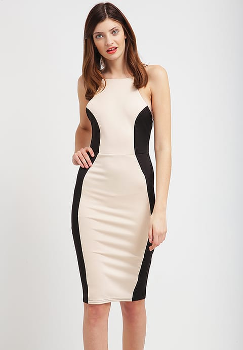 Contrast Illusion Midi dress