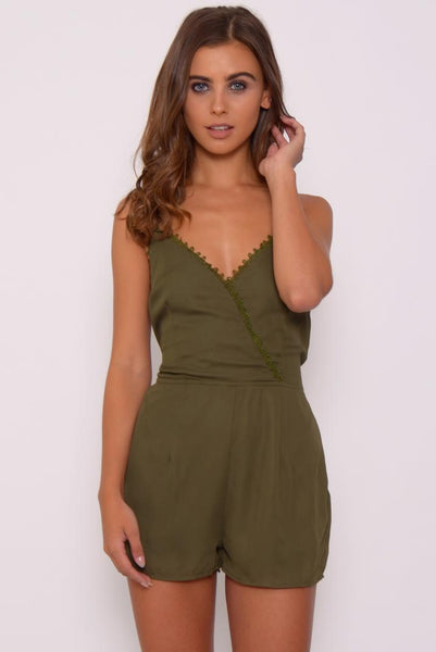 Wrap Strappy Playsuit