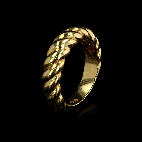 14kt Yellow Gold Fancy Woman Ring