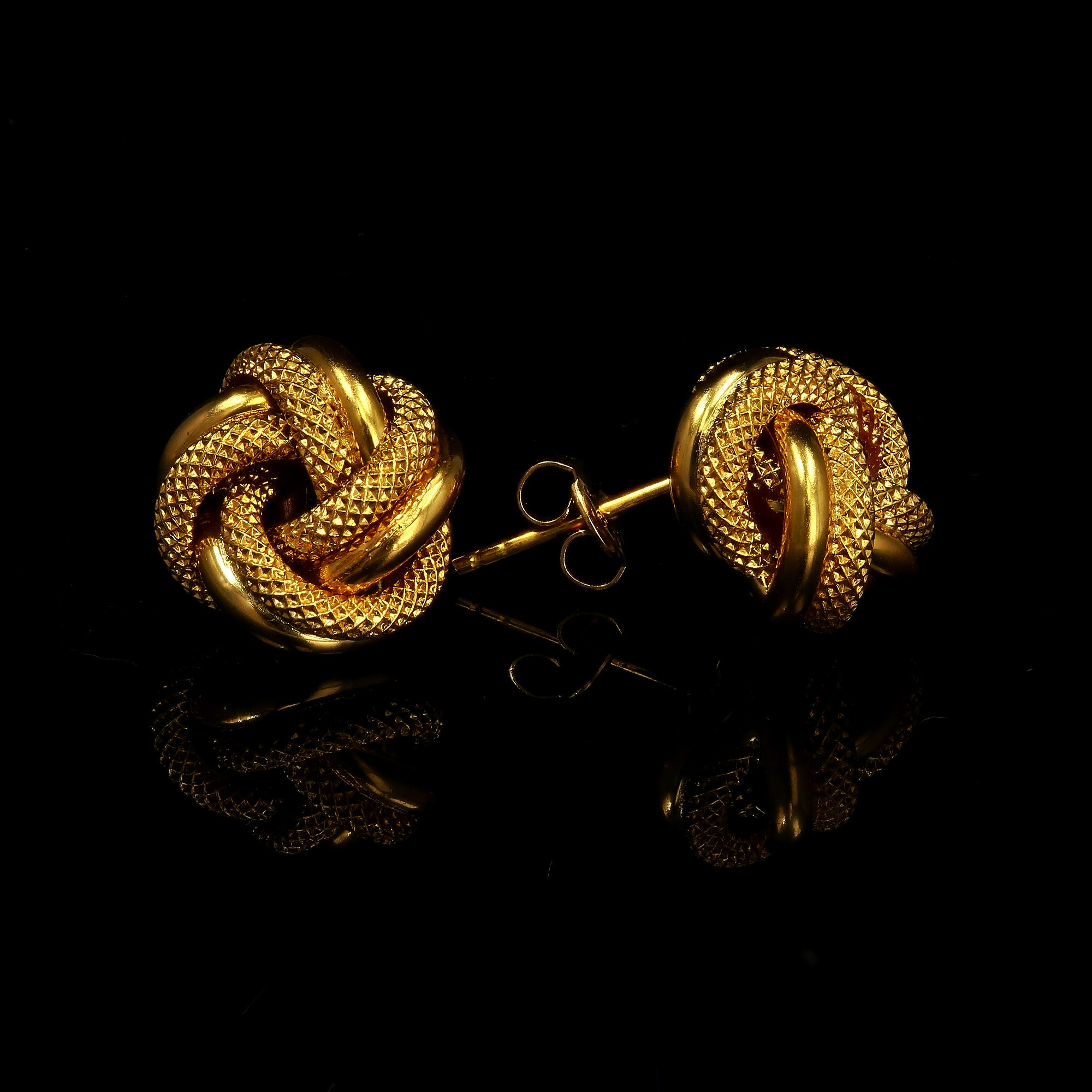 10kt Yellow Gold Fancy Knots Ring