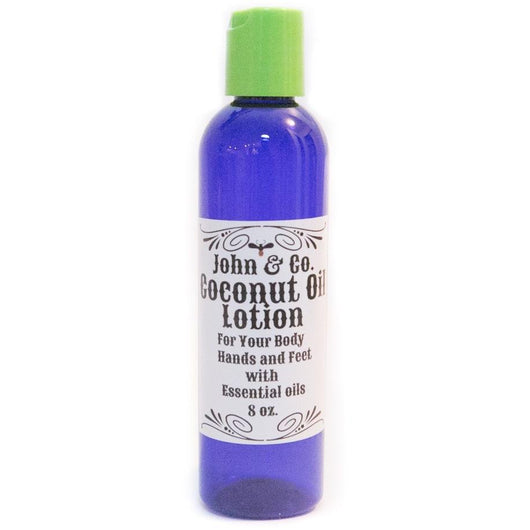 Coconut Oil Lotion 4oz - John & Co.