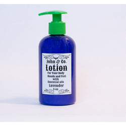 Lotion with Essential Oils 8oz - John & Co.