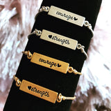 Courage and Strength Reversible Bracelet