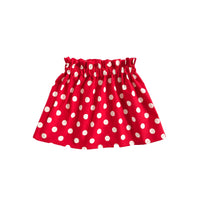 High Waist Red Polka Dot Skirt (Minnie)