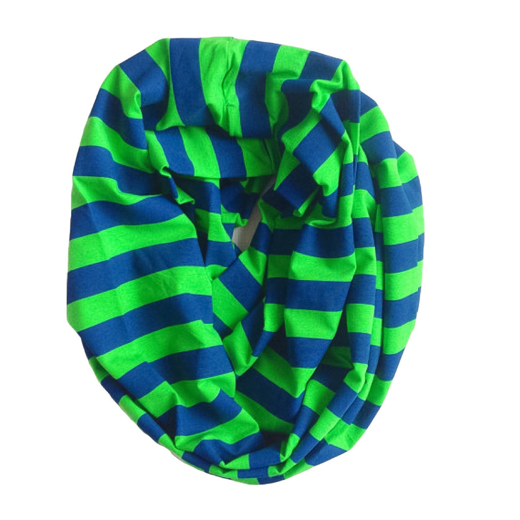 Seahawks Inspired Infinity Scarf -Adult