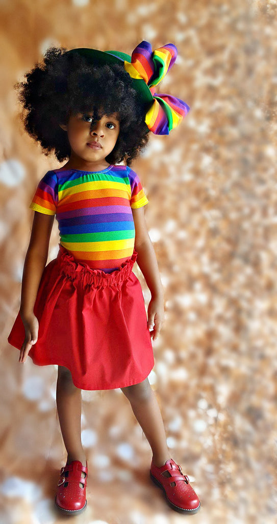 Rainbow Stripe Leo