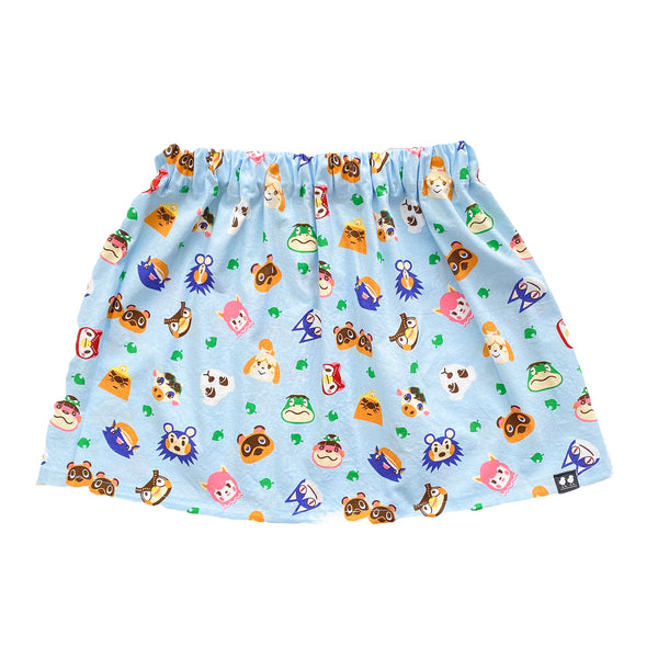 Animal Crossing Baby Blue Skirt