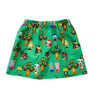 Animal Crossing Green Skirt