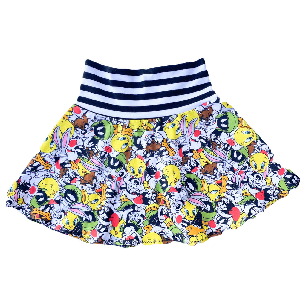 Looney Toons Knit Twirl Skirt