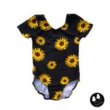 Sunflowers Leo Leotard - All Sizes PREORDER