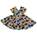 Nightmare Before Christmas Sally Patchwork Twirl Dress