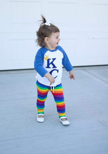 Rainbow Stripe Leggings Joggers Comfy Pants PREORDER