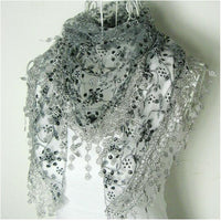 Women's Sweet Silk Triangle Scarf