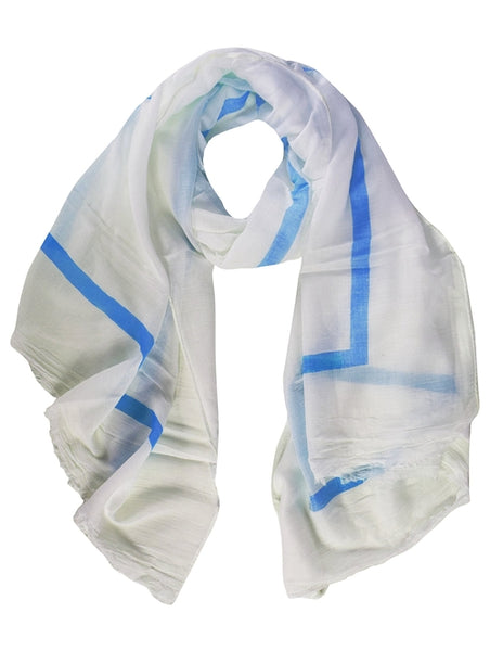 Lightweight Cotton Blend Sophisticated Scarves