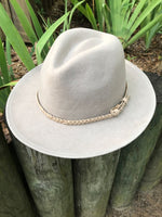 """The Sunset Spirit"" Hat in Dark Beige"