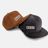 Full Corduroy Hat - Black