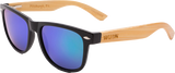 Real Bamboo Wood Wanderer Style Sunglasses by WUDN