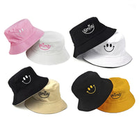 SMILE Bucket Hat Double Sided