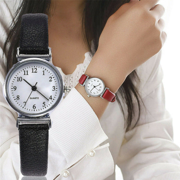 Classic Women's Casual Quartz Leather Watch