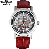 WINNER Mechanical Casual Sports Men's Watch