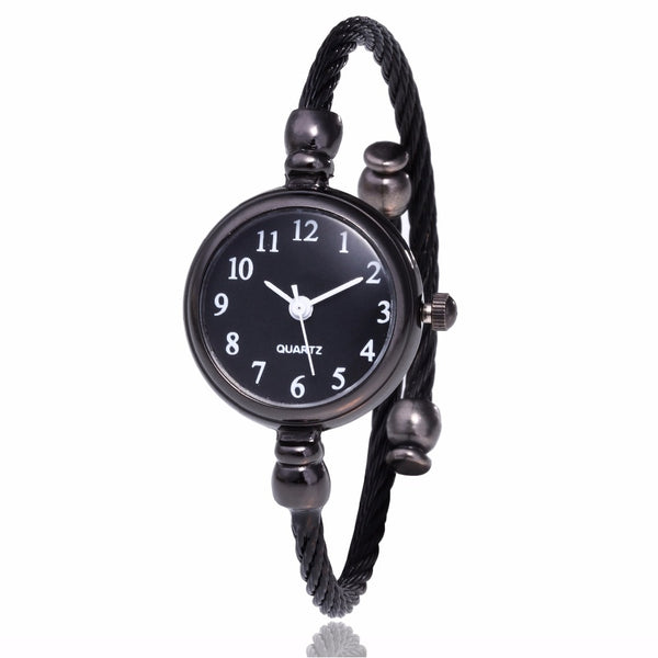 Women's Simple Silver Elegant Bracelet Watch