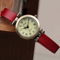 Women's ROMA vintage leather watch