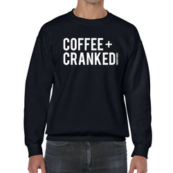 Coffee + Cranked Unisex Crews