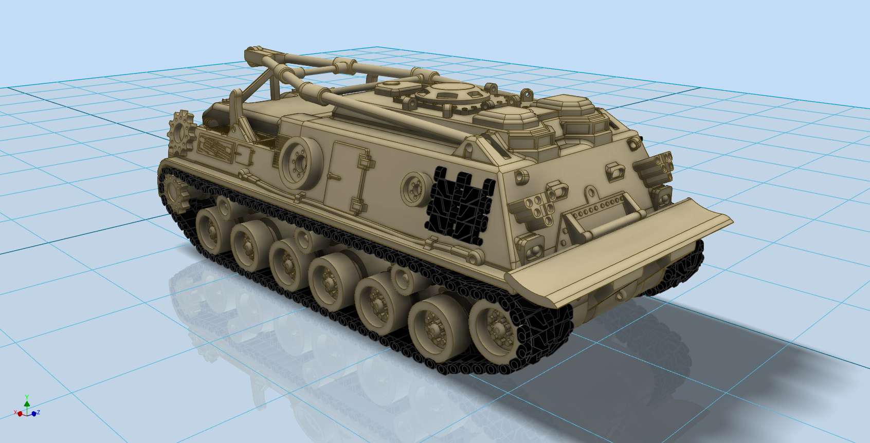 N scale m88 recovery vehicle out of the box models n scale m88 recovery vehicle reheart Images