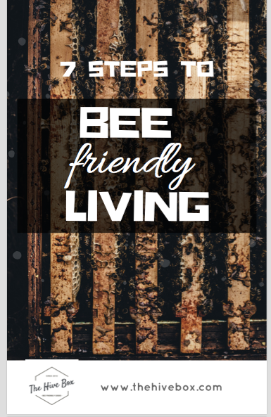 7 Steps to Bee Friendly Living